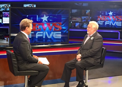 KUSI Interview talking about issues.